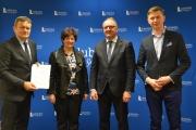 Podpisano umowę na projekt grantowy w zakresie doposażenia zespołów artystycznych w instrumenty