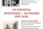 Dni dziedzictwa historycznego i kulturowego Gminy Głusk