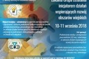 Szkolenia i wyjazdy studyjne dla członków i pracowników  lokalnych grup działania z terenu województwa lubelskiego